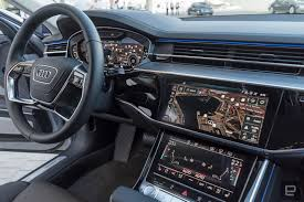 audi dashboard 2017 audi u0027s flagship a8 has an overwhelming amount of tech