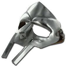 Dr Doom Mask Rapper Mf Doom Madvillain Gladiator Costume Mask 18g Amazon Com