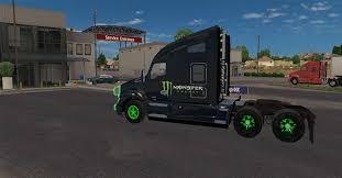 kenworth k200 usa kenworth t680 truck monster energy mega pack v1 1 mod ats mod