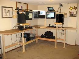 Building Wooden Computer Desk by Diy Standing Desk With Style Corner Concept Idea Jpg 800 600 N