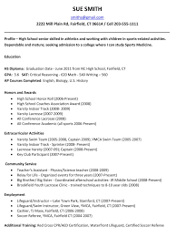 resume objective college student high school resume for college resume sample high school resume for college