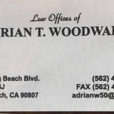 Business Cards Long Beach Law Office Of Adrian T Woodward 30 Reviews Divorce U0026 Family