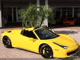 Ferrari 458 Yellow - 2013 ferrari 458 spider
