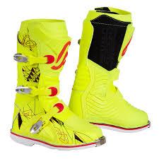 kids motorbike boots acerbis kids mx boots shark fluo yellow 2017 maciag offroad