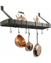 oil rubbed bronze pot rack with lights spring savings on steel wall mount pot rack rectangle oil rubbed