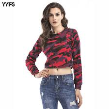women s bare 2017 summer t shirt womens tops casual cropped bare midriff hoodies
