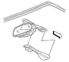 repair instructions inside rearview mirror replacement 2004