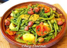 comment cuisiner des haricots verts tajine de poulet aux pomme de terre et haricots verts darna