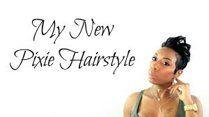 my new pixie hair cut kaye wright youtube