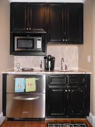 Distressed Painted Kitchen Cabinets Distressed Black Kitchen Cabinets Caruba Info