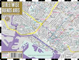 Map Of The United States With Compass by Streetwise Buenos Aires Map Laminated City Center Street Map Of