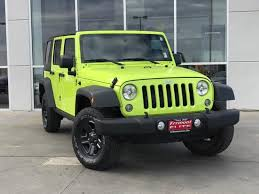certified jeep wrangler certified pre owned 2016 jeep wrangler unlimited 11j17351a