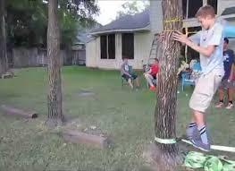 diy american ninja warrior backyard obstacle course gogo papa