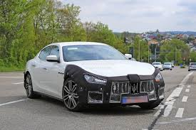 maserati dark blue 2018 maserati ghibli facelift spied up close is this the new 450