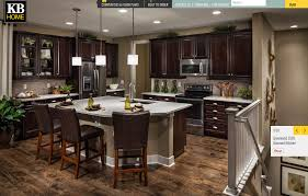 New Home Interior Colors by Kb Home Parker Co The Vista At Meridian Village Kitchen