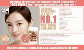 K Collagen k colly sweet17 collagen whitening supplement k colly kcolly k