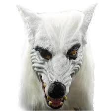leather masquerade masks silicone scary unique kids birthday party supplies wolf