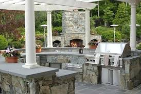 Backyard Fireplace Plans by Outdoor Stone Fireplace Plans Stone Outdoor Fireplaces Pictures