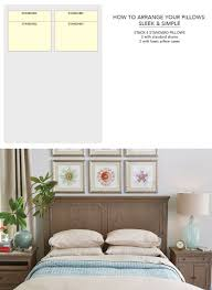 how to make a bed headboard how to arrange pillows on bed how to decorate