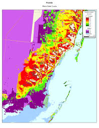 Map Of South Beach Miami by More Sea Level Rise Maps Of Florida U0027s Atlantic Coast