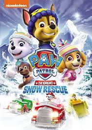 amazon paw patrol snow rescue gage munroe alex