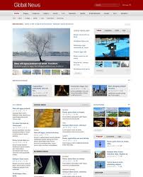 newspaper theme html5 35 beautiful html5 and css3 templates for your website creative