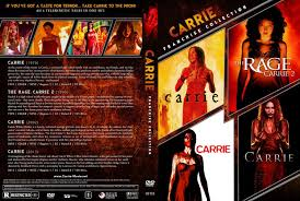 carrie franchise collection dvd covers and labels