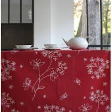 table de noel nappes de noël chemin de table ou tissu au mètre