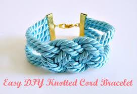 knot cord bracelet images Easy diy knotted cord bracelet dans le lakehouse jpg