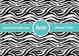 zebra print wrapping paper howcrafts safari print wrapping paper howcrafts