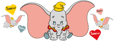personalised dumbo wall stickers totally movable dumbo wall stickers strip jpg