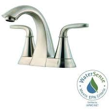 Centerset Waterfall Faucet Centerset Bathroom Sink Faucets Bathroom Sink Faucets The Home