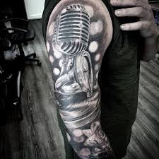music themed tattoos for men pictures to pin on pinterest tattooskid