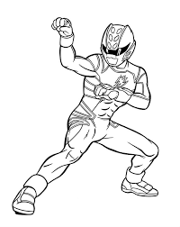 Power Rangers Jungle Fury Coloring Pages Funycoloring Power Ranger Jungle Fury Coloring Pages