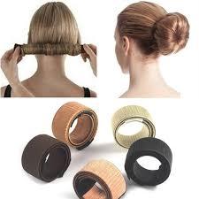 hair bun maker 1 pcs maker women kids magic hair styling donut bun maker