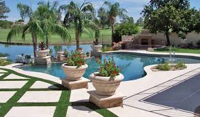 Lazy River Pools For Your Backyard by Phoenix Landscaping Phoenix Landscaping Design U0026 Pool Builders