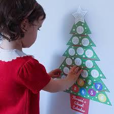 personalised advent calendar wall sticker set by chickp personalised advent calendar wall sticker set