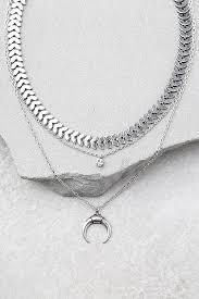 silver necklace set images Boho silver choker necklace set silver necklace set boho jpg