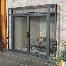 fireplace fireplace mesh screens decorating ideas contemporary