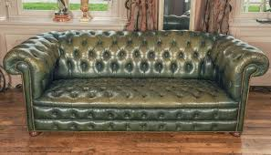 Leather Chesterfield Sofa Bed Chesterfield Sofa Green Home Design