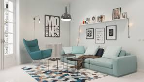 Scandinavian Style Armchair Living Room Privat Apartment Alluring Scandinavian Living Room