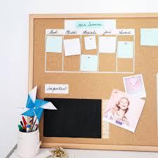bureau tableau tableau liege organisation bureau diy chambre