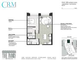 floor plans the ivory on euclid downtown cleveland luxury