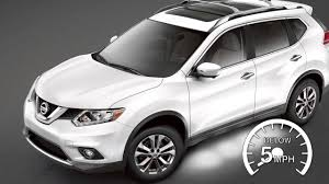nissan suv 2016 white 2016 nissan rogue around view monitor with moving object