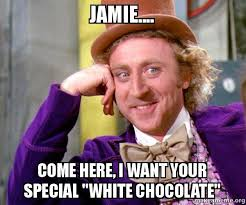 Jamie Meme - jamie come here i want your special quot white