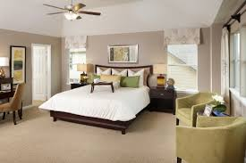 Beds On The Floor by Modern Master Room Decoration With White Bed On The Cream Modern