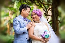 hawaiian themed wedding dresses krystle s magical disney wedding international wedding