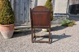 Oak Armchair A Large And Well Proportioned James I Oak Armchair Dated 1622