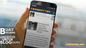 membuat aplikasi android video cara membuat aplikasi android untuk blog web dengan mudah