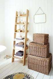 Wicker Basket Bathroom Storage Hanging Baskets Bathroom Justget Club